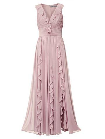 Платье вечернее с c воланами