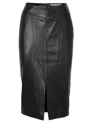 Кожаная юбка кожа ягненка Nappaleder