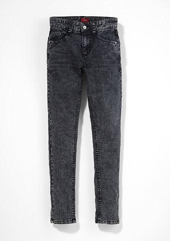 Облегающий Seattle: Acid Washed-Jeans ...