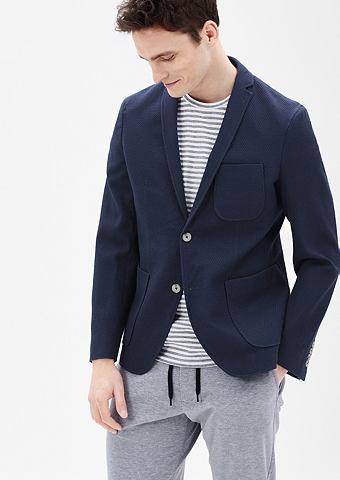 Зауженные пиджак с узор