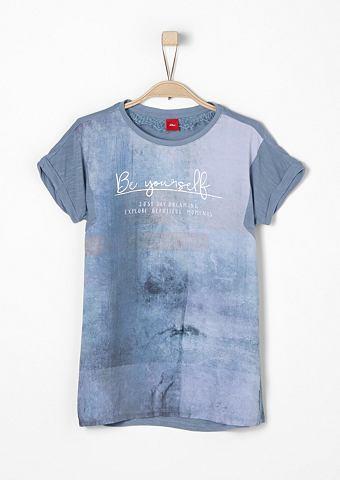 Блузка-рубашка с Foto-Print f