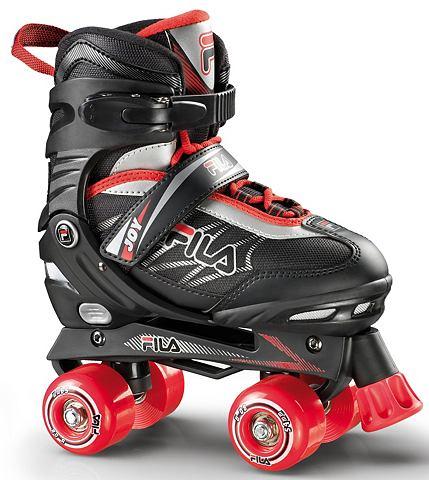 Скутер Skates schwarz/rot