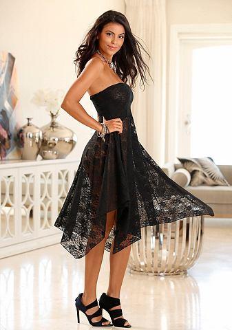 Юбка / - платье из Полупрозрачный круж...