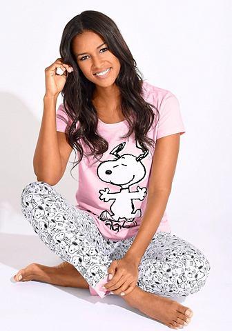 Пижама с Snoopy-Print в N-Grö&szl...