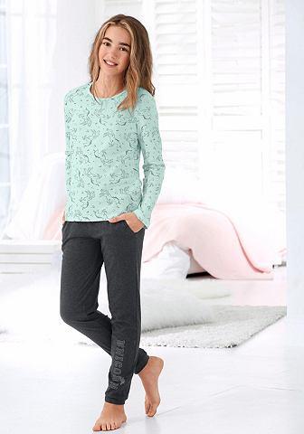 Пижама с единорог