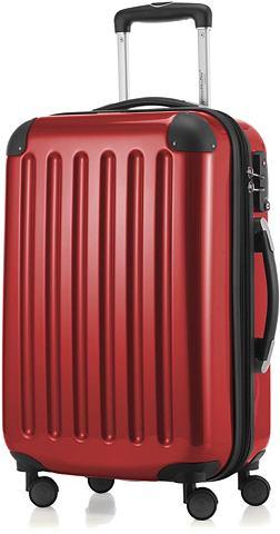 HAUPTSTADTKOFFER Пластиковый чемодан на колесах с 4 Дво...