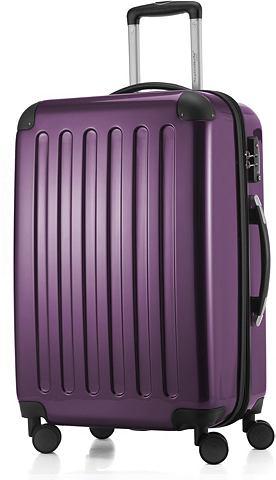 Пластиковый чемодан на колесах с 4 Дво...