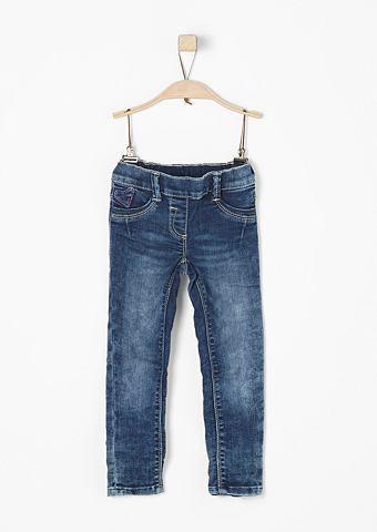 Treggings: узкие джинсы f