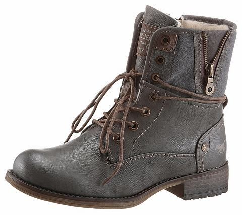Mustang туфли ботинки со шнуровкой