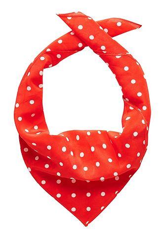 Kleines шарф шелковый с Tupfen-Print