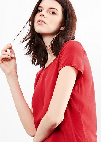 Лёгкий блузка-рубашка