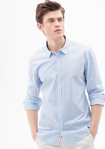 Modern форма: мелкий клетчатый рубашка...