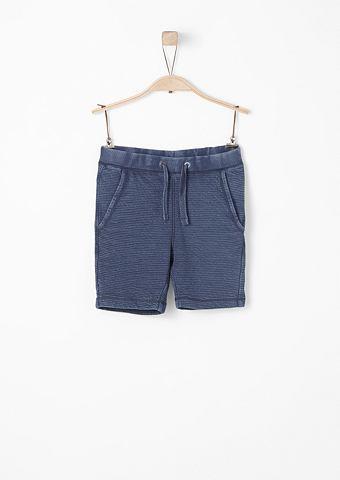 Gerippte шорты в Garment Dye для Junge...