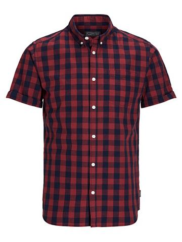 Jack & Jones клетчатый рубашка с к...