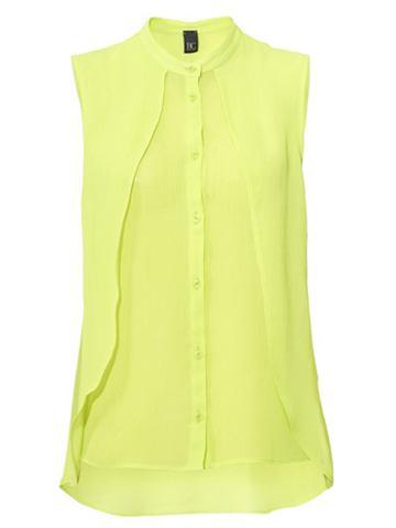 Блузка-топ в асимметричный покрой