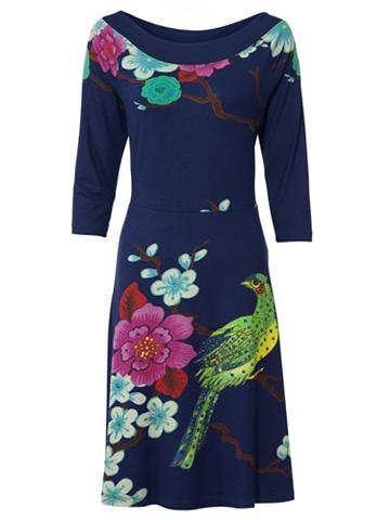 Платье из джерси с с пайетками