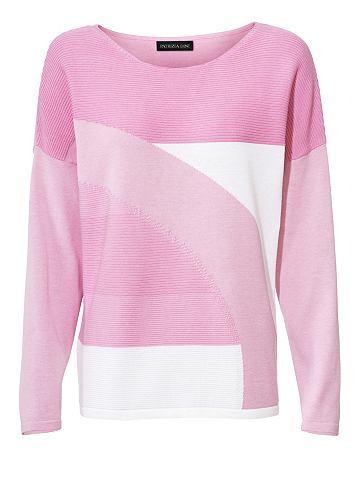 Пуловер с круглым вырезом Strickmix