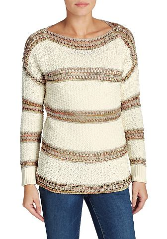 Пуловер полосатый