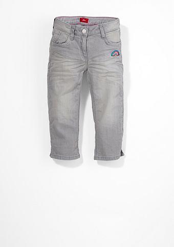 Skinni Suri: брюки-капри с с пайетками...