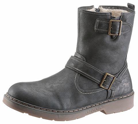 Mustang туфли сапоги зимние