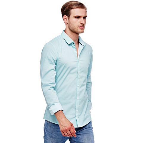 Рубашка из хлопок MIKROMUSTER