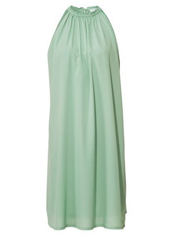Платье с завязкой через шею с украшени...