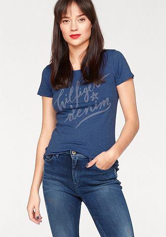 Hilfiger джинсы блуза с круглым вырезо...