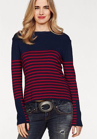 Пуловер с круглым вырезом »TESIB...