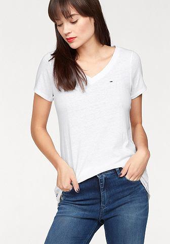 Hilfiger джинсы футболка с V-образным ...