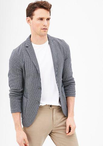 Зауженные пиджак с жаккардовый узор