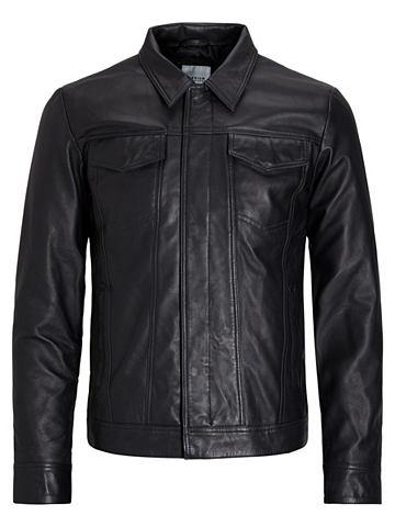 Jack & Jones Trucker- куртка кожан...