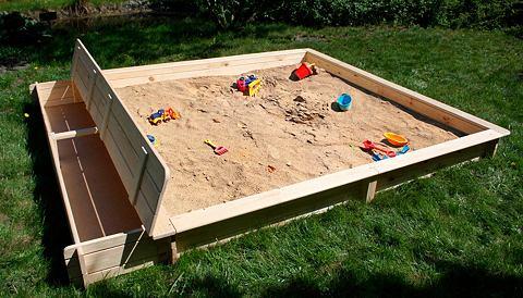Песочница »Yanick« Bx L: 2...