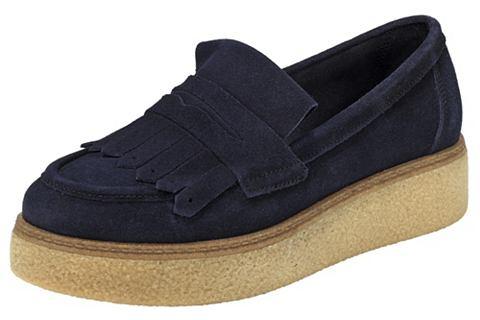 Туфли-слиперы с Plateausohle