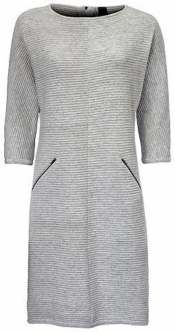 Платье трикотажное с 3/4 рукав