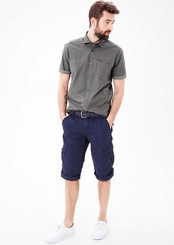 Regular: рубашка с Inside-Out-Effekt