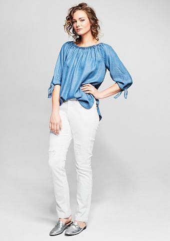 Curvy: Weiße джинсы