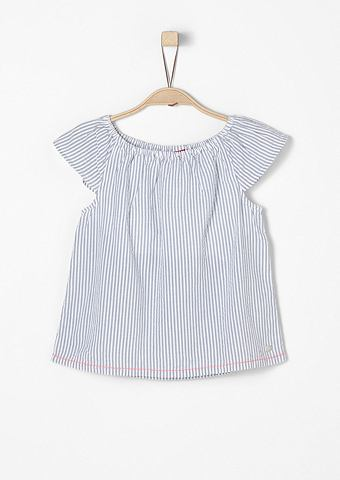 Блузка с коротким рукавом из хлопок f