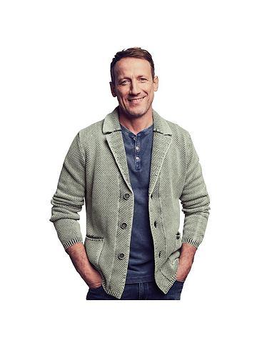Модный пиджак трикотажный