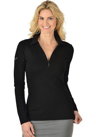 Рубашка поло с Swarovski® кристалл...