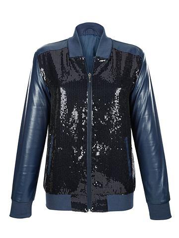 Куртка в искусственная кожа