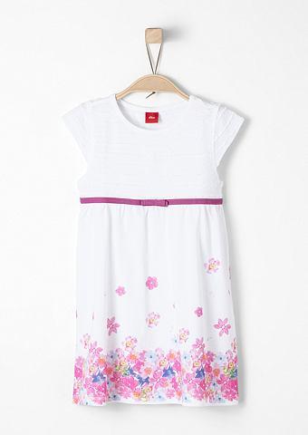 Лёгкий летнее платье из трикотаж f