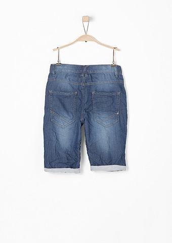 Seattle: деликатный джинсовые бермуды ...