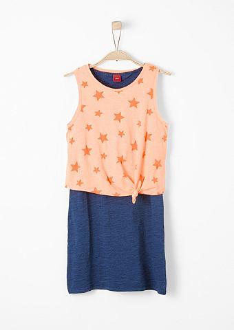 Платье 2в1 с Neon-Top для Mädchen...