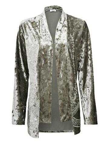 Пиджак бархатный с окантовка