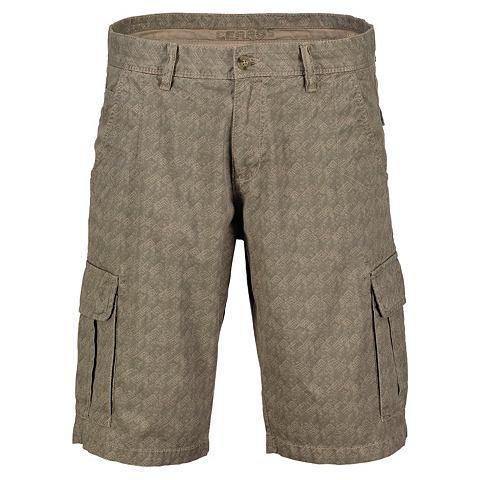 Kарго шорты с повторяющийся узор