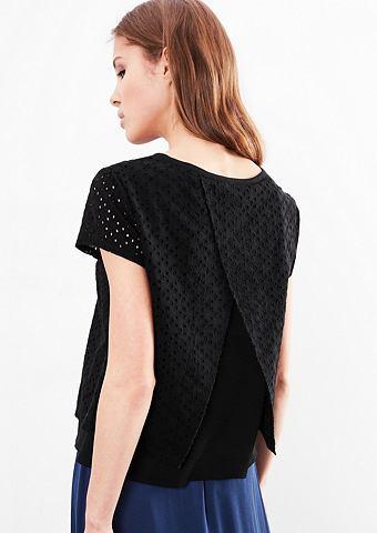 Блуза с ажурный узор с дырочками