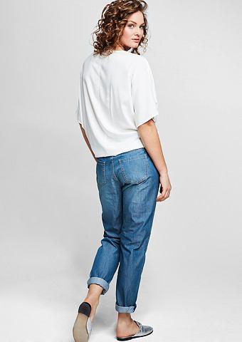 Fancy: нежный джинсы с пуговицы