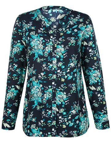 Блуза с цветочный дизайн