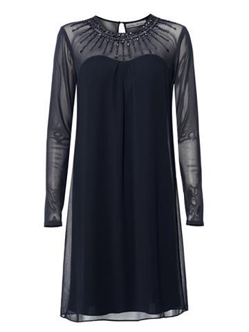 Коктейльное платье Полупрозрачный рука...