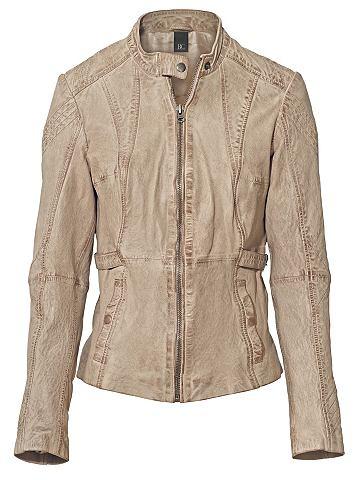 Куртка кожаная кожа ягненка в Used-Loo...
